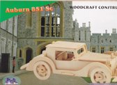 3D Puzzel Bouwpakket Auburn Auto - hout