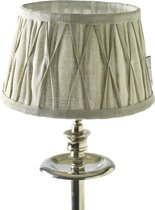 Rivièra Maison Cambridge Lamp Shade - Lampenkap - Bruin - 15 x 20 cm - Linnen