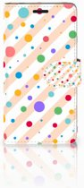 Sony Xperia E3 Bookcase Design Dots