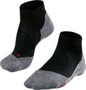 Falke RU4 Cushion Short - Hardloopsokken - Heren - Zwart - Maat 44/45