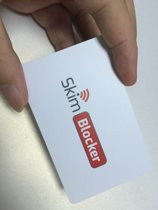 SkimBlocker - De betrouwbaarste Anti Skim Card - tegen skimmers - RFID kaartbeschermer - portemonnee accessoires - perfecte bescherming tegen skimmen - bankpas beschermer - bescherming van privacy gegevens - RFID Blocker