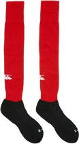 Canterbury Team Playing Rugby  Sportsokken - Maat 39 - Unisex - rood