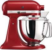 KitchenAid Artisan KSM175PSECA - Keukenmachine - Empire Red