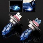 HOD H7 halogeenlamp, super witte auto koplamp lamp, 12 V / 100W, 6000K 2400 LM (paar)