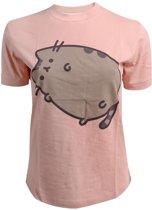 Pusheen Dames Tshirt -2XL- Pusheen Roze