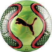 PUMA FUTURE Net ball Voetbal Unisex - Fizzy Yellow/Red Blast/Black