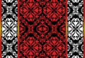 Fotobehang Abstract Pattern | XXXL - 416cm x 254cm | 130g/m2 Vlies