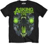 Asking Alexandria - TSth heren unisex T-shirt zwart - S