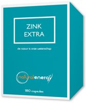 Zink Extra Natural Energy 180 Capsules