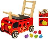 I'm Toy Loopwagen Brandweer met blokken