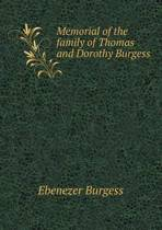 Memorial of the Family of Thomas and Dorothy Burgess