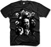 Resident Evil 6 T-Shirt - Zombie Mosaic Black (Maat XL)