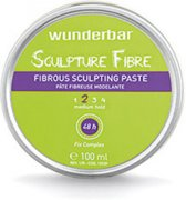WUNDERBAR STYLING SCULPTURE FIBRE - FIBROUS SCULPTING PASTE PASTA HOLD 2 - MEDIUM HOLD 100ML