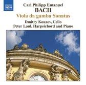 Bach, Cpe: Viola Da Gamba Son.