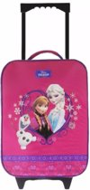 Disney Frozen Warm  Hugs Trolley Koffer Roze