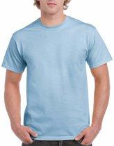 Lichtblauw katoenen shirt voor volwassenen L (40/52)