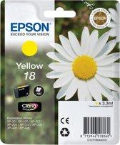 Epson T1804 - Inktcartridge / Geel