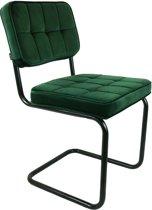 Kick buisframe stoel Ivy - Donker Groen