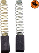 Koolborstelset voor Black & Decker Schaaf DN710 - 6,3x6,3x11mm