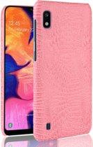 Mobigear Shockproof Krokodil Hoesje Roze Samsung Galaxy A10