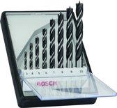 Bosch 8-delige Houtborenset