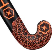 FLASH Heart hockeystick Jongens Zwart Oranje