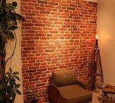 6 panelen (3,6m²) 120 x 50 cm. 3D wandpanelen, wandbekleding, piepschuim steenstrips, verharde tempex, gevel bekleding, isolatie panelen, steenstrips, decoratie wandpanelen code 211