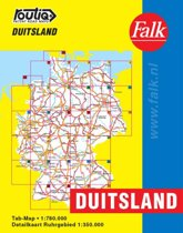 Routiq Duitsland tab map