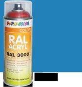 Motip Dupli-Color Spuitbus Acryl Hoogglans - RAL 5012 Lichtblauw