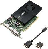 PNY VCQK2200-PB NVIDIA Quadro K2200 4GB videokaart
