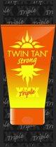 Twin Tan strong 4x 15ml (4-pack, zonnebank bruinversneller) voor de licht gebruinde huid