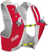 ad6f2a1c21d CamelBak Ultra Pro Drinkrugzak with Quick Stow Flask grijs/rood Maat L