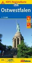 ADFC-Regionalkarte Ostwestfalen mit Tagestouren-Vorschlägen, 1:75.000