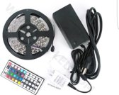Levay ® RGB ledstrip led strip waterproof complete set - 5M