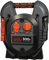 BLACK+DECKER Jumpstarter J312 - 12V/ 300A - donkergrijs