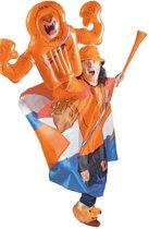 Oranje Opblaas Zwaaihand Leeuw