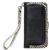 Mobilize 2in1 Gelly Wallet Zipper Case Apple iPhone 6/6S/7/8 Black/Zebra