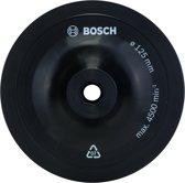 Bosch - Schuurplateau voor boormachines, 125 mm, spansysteem 125 mm