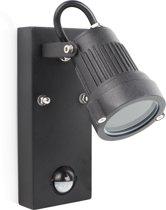 Smartwares GSW-170-MG Wandlamp - richtbaar - bewegingsmelder - GU10 fitting