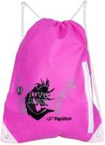 Papillon SporttasKinderen en volwassenen - roze/zwart/zilver