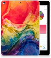 Apple iPad 9.7 2018   2017 Uniek Tablethoesje Watercolor Dark
