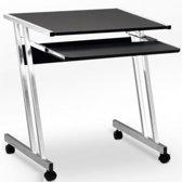 Computertafel - 62x48x73cm - zwart