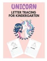 Unicorn Letter Tracing for Kindergarten