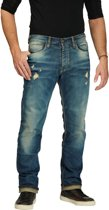 ROKKER IRON SELVAGE LIMITED JEANS L36/W34