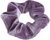 Lucardi Diversen  - Velvet scrunchie paars