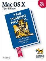 Mac OS X: The Missing Manual, Tiger Edition