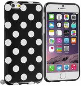 Movizy Polkadot iPhone 6(S) cover - zwart