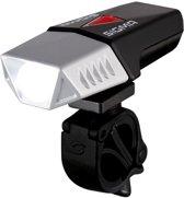 Sigma Buster 600 Led Fiets Koplamp - 600 Lumen - USB - Geint. accu - Schroefhouder - Zwart/zilver