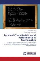 Personal Characteristics and Performance in Mathematics