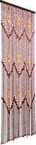 Vliegengordijn houten kralen Taiping 90x200